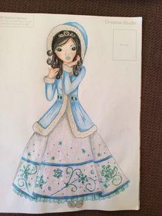 Winter koningin Fantasy Model, Models, Creative Studio, Cute Drawings, Manga, Baby Dress, Coloring Pages, Aurora Sleeping Beauty, Disney Princess