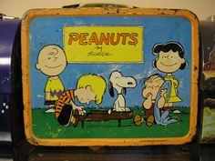 The old metal lunchbox!  New one every school year. :)