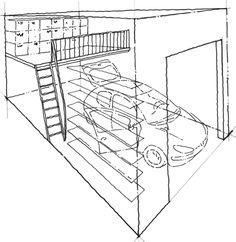 Over Door Mezzanine Garage Organization Pinterest