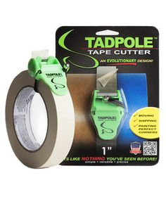 Tadpole Tape Cutter | Real Simple�s mission, through its 16 years, has been to simplify your life with smart finds like these.