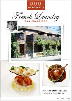 French Laundry - 3 Star #Michelin Restaurant in 2015