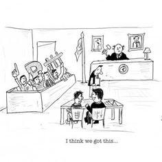 I think we got this... lawyers humor
