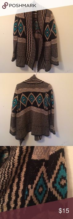 Cardigan Large woman's cardigan with a beautiful pattern PINK Sweaters Cardigans