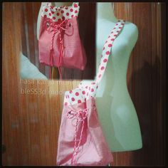 Tote bag - Sewing project - made by bless3d modiste's students