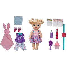 Boneca Bebê - Baby Alive - Festa do Pijama - Loira - Hasbro - Ri Happy
