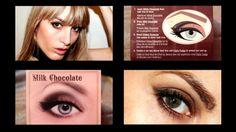 MichelaIsMyName: Too Faced Chocolate Bar Look #1 Milk Chocolate