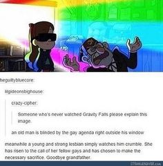 Lilgidionsbighouse are you sure you've never seen gravity falls?