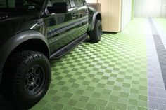FreeFlow Self Draining Garage Floor Tiles | RaceDeck
