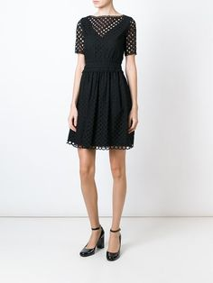 Carven Robe À Design Perforé - Al Ostoura - Farfetch.com