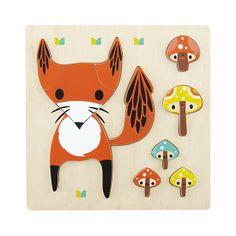Fox Wildlife Party Puzzle