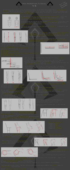 arm proportions tutorial; links to a set of Tuts