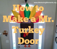 How to Make a Mr. Turkey Door