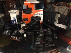 Sony Alpha a700 Camera 12.2MP With Vertical Grip 4 Lenses & Many Extras!