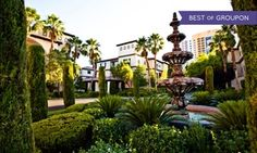 Groupon - Stay with $ 10 Dining Credit and $10 Beverage Credit at Tuscany Suites & Casino in Las Vegas, NV. Dates into July. in Las Vegas, NV. Groupon deal price: $40.50