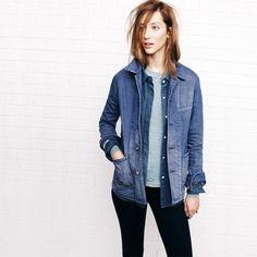 madewell denim jacket. #denimmadewell