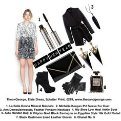 """Theo+George, Elsie Dress, €179"" by theoandgeorge on Polyvore"
