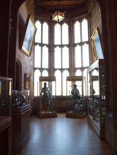 Exhibición Sala del Rey - Castillo de Bamburgh