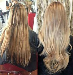 Hair and Make-up Artist Azelle Santa Ana (aka shared this beautiful beige  summer blonde hair color before and after with MODERN by using our hashtag  to show ... 3086911213e2