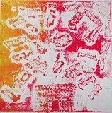 Artsonia Art Exhibit :: 5th Grade-Collagraph Sound Prints