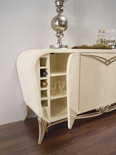Spacium sideboard detail Jetclass | Real Furniture Luxury Interior Design