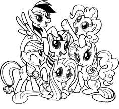My Little Pony Coloring Pages Free Online Printable Sheets For Kids Get The Latest Images