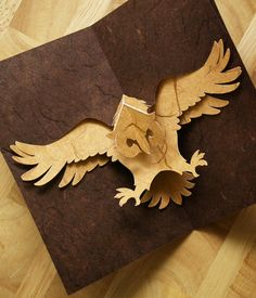 Have you ever marveled at a beautiful pop-up card and wondered how they made it? Kirigami, the art of paper cutting is Arte Pop Up, Pop Up Art, Origami And Kirigami, Origami Lamp, Origami Paper, Diy Arts And Crafts, Foam Crafts, Paper Artwork, 3d Cards