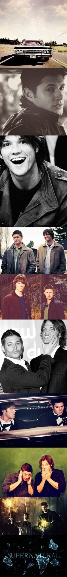 All these pictures... Especially the third one down of Jared and the second one down of Jensen. Sigh.
