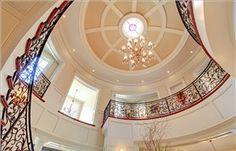 Grand circular foyer ~ 1450 Lakeshore Road East, Oakville