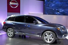 The 2014 Nissan Pathfinder is an incredible 3d seat suv.