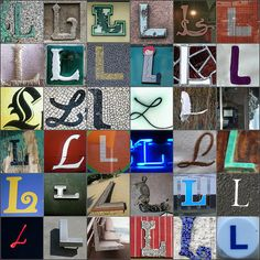 flickr search for letter L