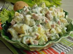 Polish Recipes, Tortellini, Potato Salad, Catering, Grilling, Recipies, Good Food, Lunch Box, Food And Drink