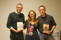 """Amb en Jaume Clotet i en David de Montserrat vam parlar de la seva novel·la """"Lliures o morts""""."""