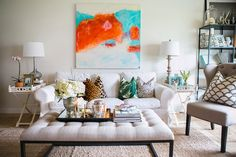 Kathleen Barnes' Orange County Home Tour #theeverygirl