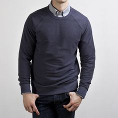 Everlane: The Men's French Terry Slate $45