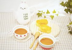 Cute Bunny Stacking Teacup Set