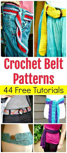 Crochet Belt Patterns – 44 Free Tutorials - DIY Crafts - Free Crochet Patterns