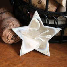 """Crystal-Glazed Porcelain Pin """"Shooting Star"""" by Chiron Creations"""