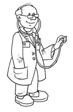 Top 10 Free Printable Community Helpers Coloring Pages Online Body Preschool, Preschool Colors, Preschool Activities, Art Drawings For Kids, Drawing For Kids, Community Helpers Worksheets, Community Workers, Community Service, Happy Paintings