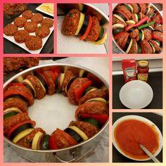 Ramadanrecepten.nl Turkse ovenschotel met gehakt en aubergine | Ramadanrecepten.nl