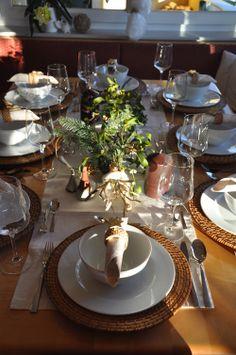 Festtags Tischdeko