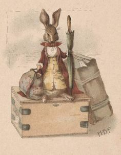 Illustration from Beatrix Potter's first published work, written by Frederick Weatherl 1890