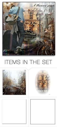 """""""The Traveler"""" by maja-k ❤ liked on Polyvore featuring art"""