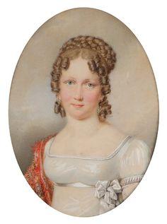 1817ca. Maria Leopoldine of Austria, Future Empress of Brazil by Friedrich Johann Gottlieb Liede        Bookmark this member