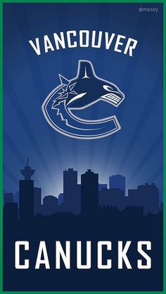 ♡*゚Going To See The Canucks vs Detroit Game Tonight! Going For Dinner & Drinks First.Love Going Downtown Vancouver & Hanging Out! City Iphone Wallpaper, Nhl Wallpaper, Cityscape Wallpaper, San Jose Sharks, Hockey Games, Ice Hockey, Nhl Logos, Stanley Cup Playoffs, Canada
