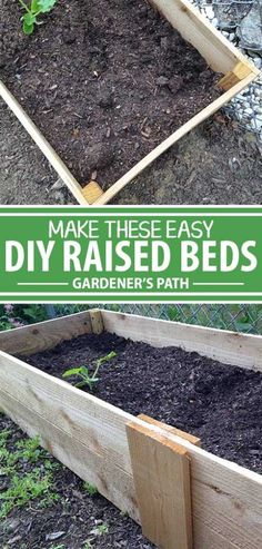 For vertical gardens, leafy greens, and especially root crops, or if you simply want improved soil and drainage, a raised bed is the best option. But buying these from the store can really make you question the frugality of gardening. Check out this simple plan to build a small, economical version. Read more now.