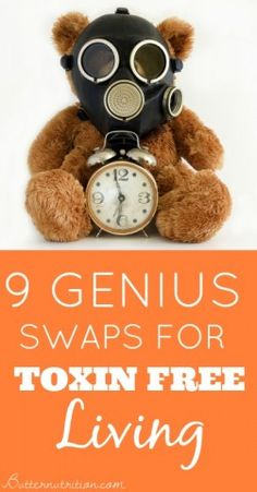 9 Genius Non-toxic Swaps for a Healthy Lifestyle - Butter Nutrition