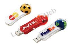 Mastercard, Avis, FedEx : tutti con la loro chiavetta usb personalizzata!