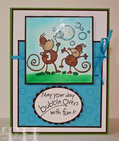 Bubbling Over by tinahale38 - Cards and Paper Crafts at Splitcoaststampers. Y