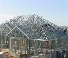 Steel Frame Structures Have Many Advantages Over Traditional Wood, But The  Obvious One Is Cost