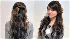 Enkel oppdatering for lang tykt krøllete hår - ny hår stiler 2018 - - Enkel ., Enkel oppdatering for lang tykt krøllete hår - ny hår stiler 2018 - - Enkel ., Enkel oppdatering for lang tykt krøllete hår . Side Bangs Hairstyles, Simple Wedding Hairstyles, Fast Hairstyles, Easy Hairstyles For Long Hair, Hairstyle Ideas, Hair Ideas, Amazing Hairstyles, Casual Hairstyles, Elegant Hairstyles